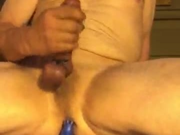 Fucking my asshole and shooting a hot load for friends chillparty